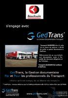 Baudouin s'engage avec GedTrans
