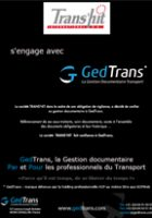 Trans'Hit s'engage avec GedTrans