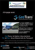 ARSONNEAU s'engage avec GedTrans