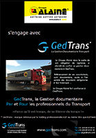 Le Groupe Alainé s'engage avec GedTrans