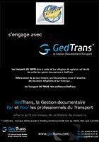 DG Trans s'engage avec GedTrans