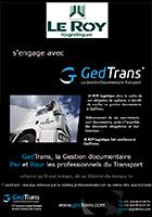 Leroy Logistique s'engage avec GedTrans