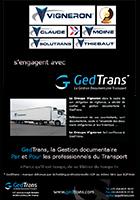 Le Groupe Vigneron s'engage avec GedTrans