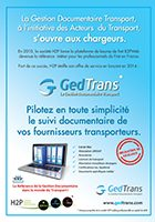 GedTrans s'ouvre aux chargeurs
