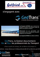 Gutfried s'engage avec GedTrans